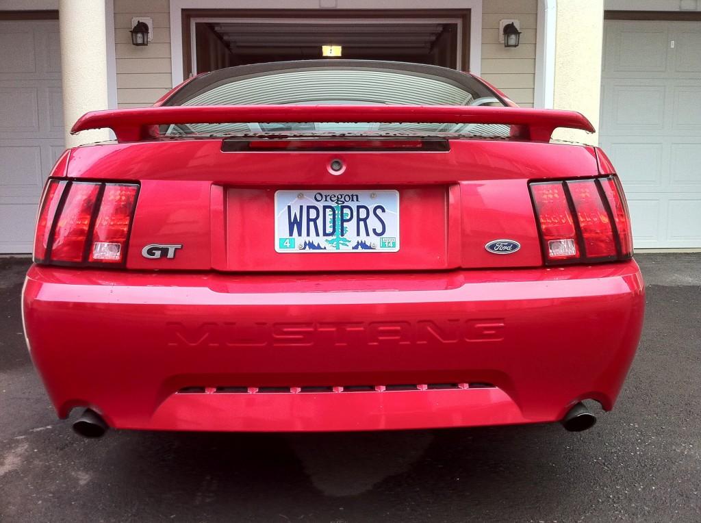 WordPress License Plates